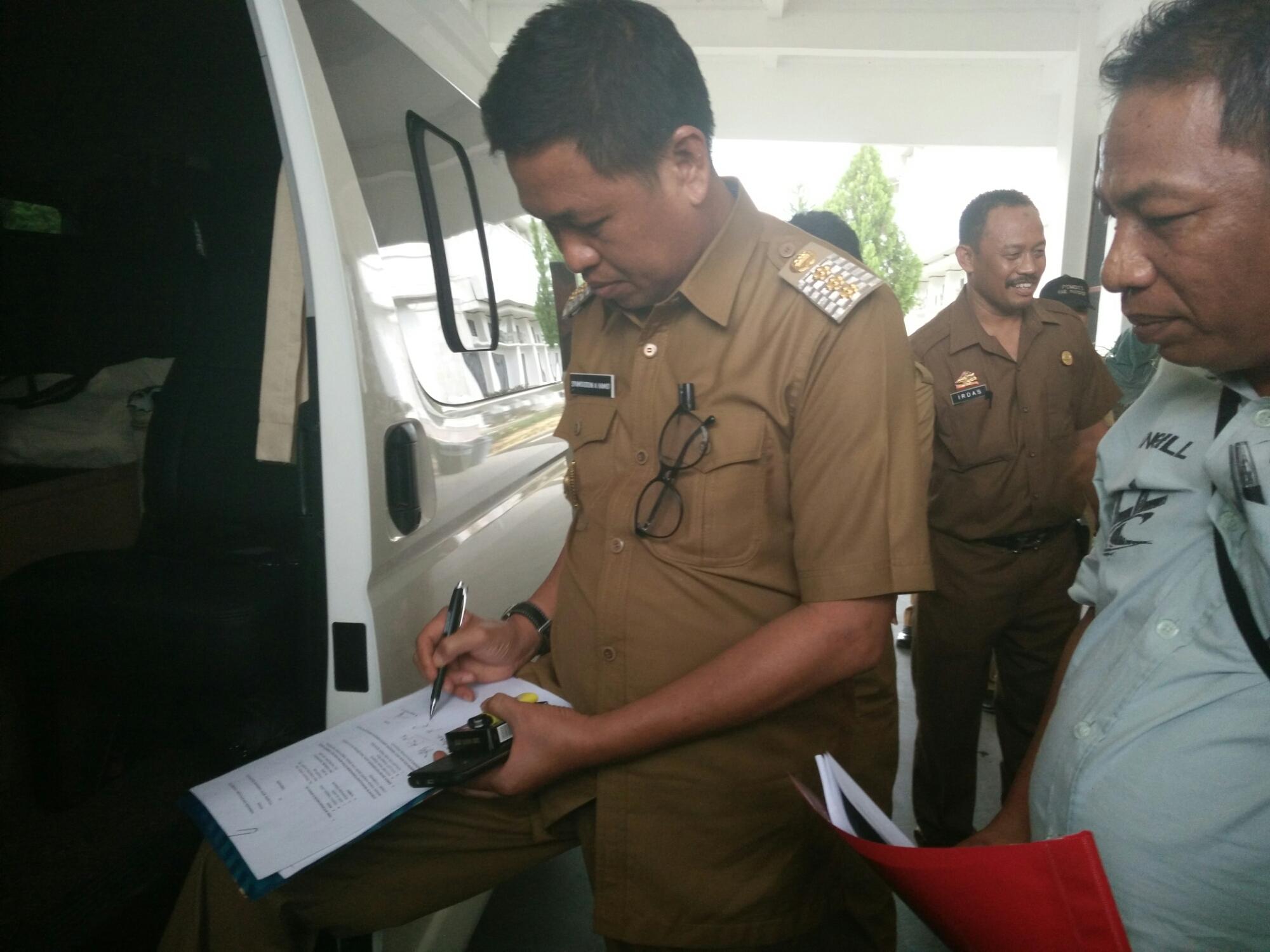 Syamsuddin menegaskan, pejabat yang akan kinerjanya tidak memenuhi target dilarang ikut lelang jabatan