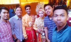 Pernikahan Ali Hassan, warga Pakistan dengan Dewi Pratiwi warga Kampung Paccelang, Kelurahan Anrong Appaka, Pangkajene, Pangkep