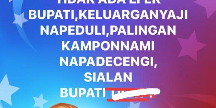 Postingan akun Umar Purwanto