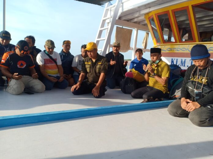 Bupati Pangkep, Syamsuddin Hamid melakukan kunjungan kerja ke wilayah perbatas Kalimantan, kecamatan Liukang Kalmas.