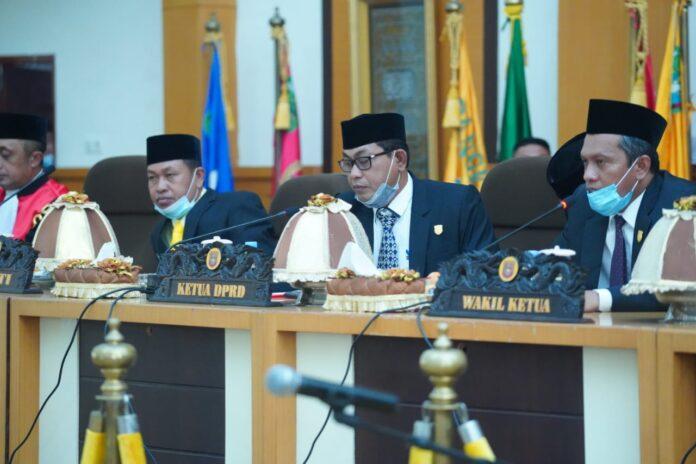 Ketua DPRD Pangkep Haris Gani